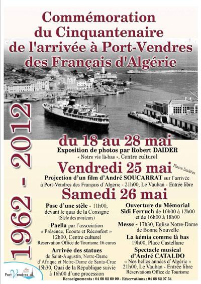 Cinquantenaire de l 39 arriv e port vendres - Office du tourisme de port vendres ...
